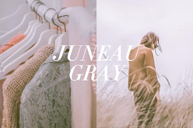 JUNEAU GRAY Free Lightroom preset by ReinaMarie