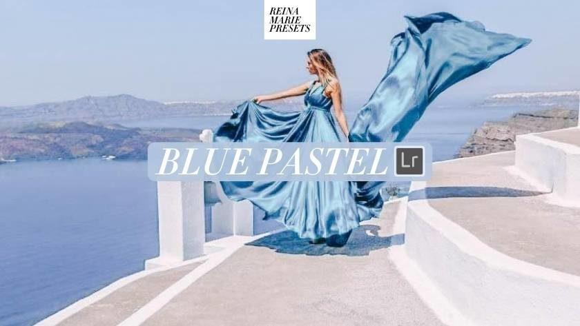 Blue Pastel Lightroom Preset Free
