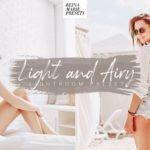 Free Light and Airy Lightroom preset reina marie presets