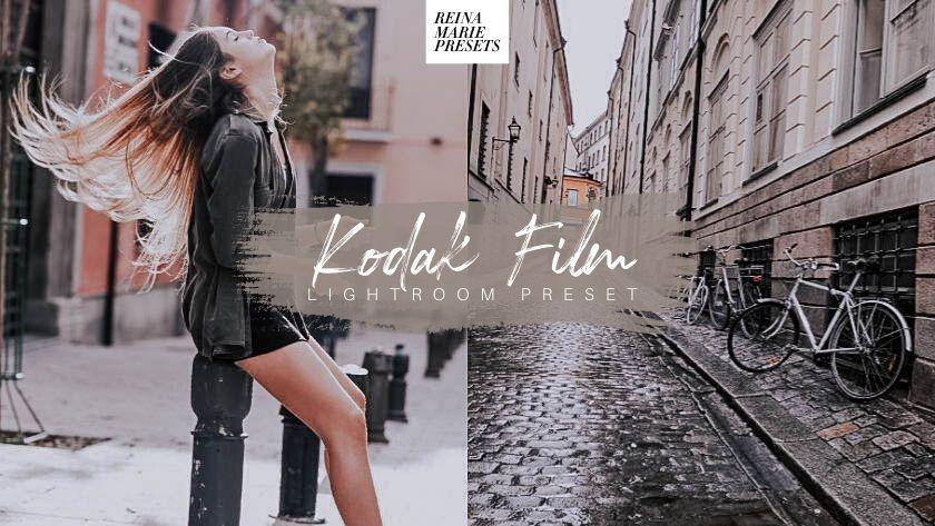 Kodak Film Free Lightroom Presets