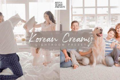 Free Korean Creamy Lightroom Preset