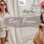 Free Rosy Brown Lightroom Preset