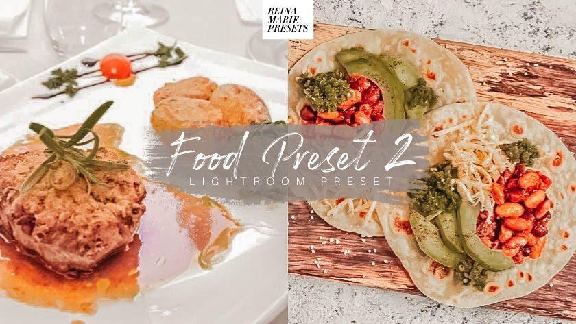 Free Food Lightroom Preset
