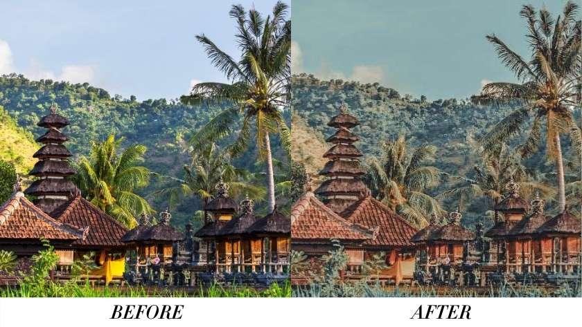 Free Preset Bali