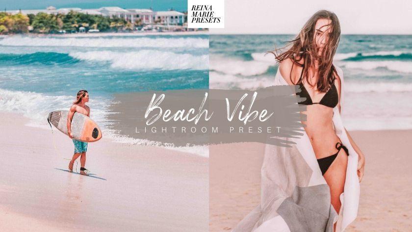xfree beach vibe lightroom preset