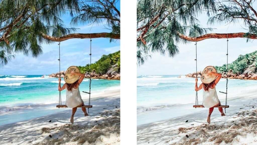 Free Beach Lightroom preset