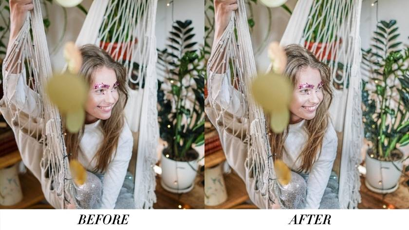 Bright and Airy Preset