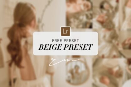 Beige Lightroom Preset Free