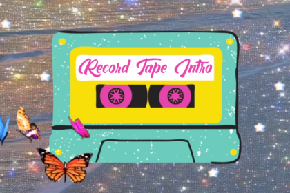 Aesthetic Intro Template | Record Tape Intro | Intro Template (No Text) #29
