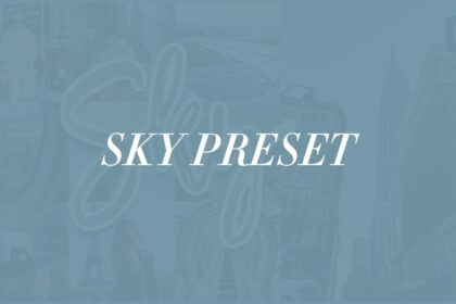 Sky Free Lightroom Preset