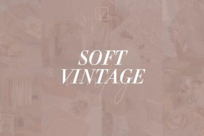 Soft Vintage Lightroom Preset Free