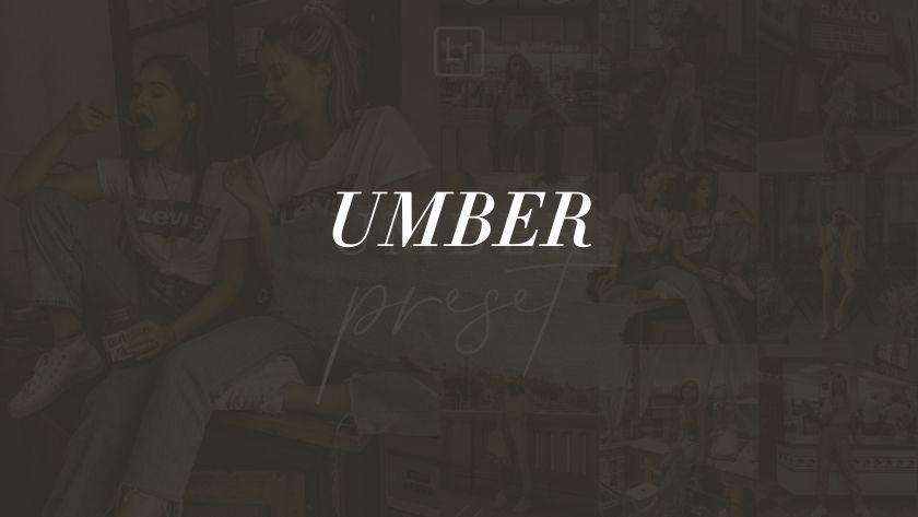 Free Umber Lightroom Preset