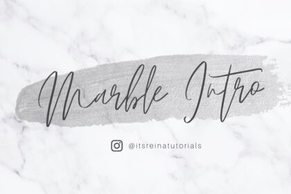 White Marble Intro Template