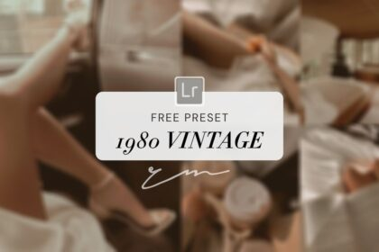 1980's Vintage Lightroom Free Preset