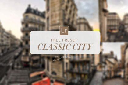 Free Classic City Lightroom Preset