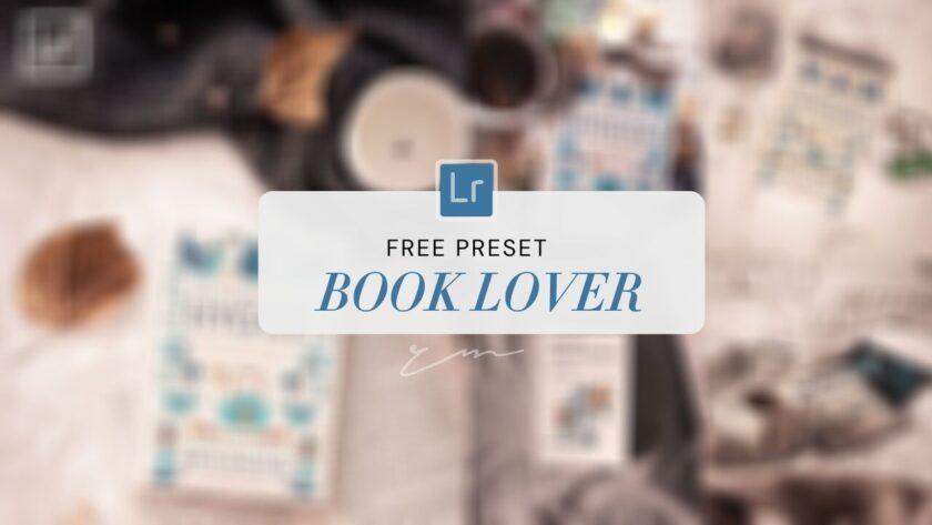 Book Lover Lightroom Preset
