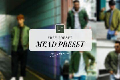Mead Preset Lightroom Green