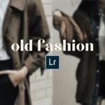 Old Fashion Lightroom Preset Free