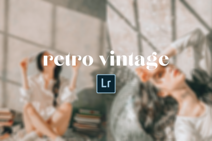 Retro Vintage Pastel Free Lightroom Preset