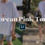 Korean Pink Tone Preset