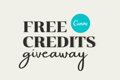 Free Canva Credits and Canva Print Codes Giveaway