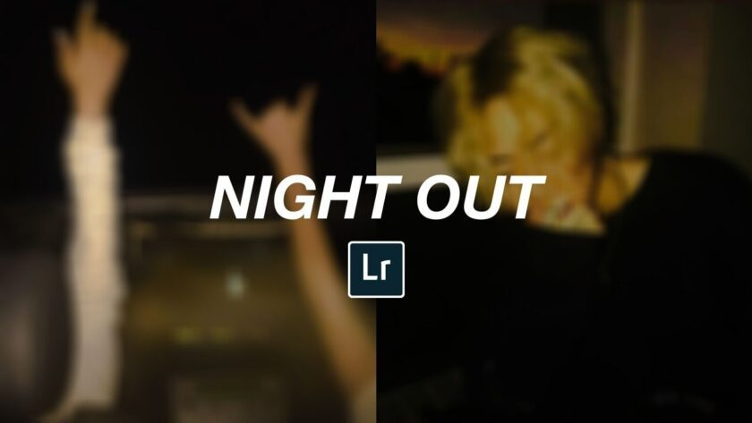Night Out Free Lightroom Preset by ReinaMarie