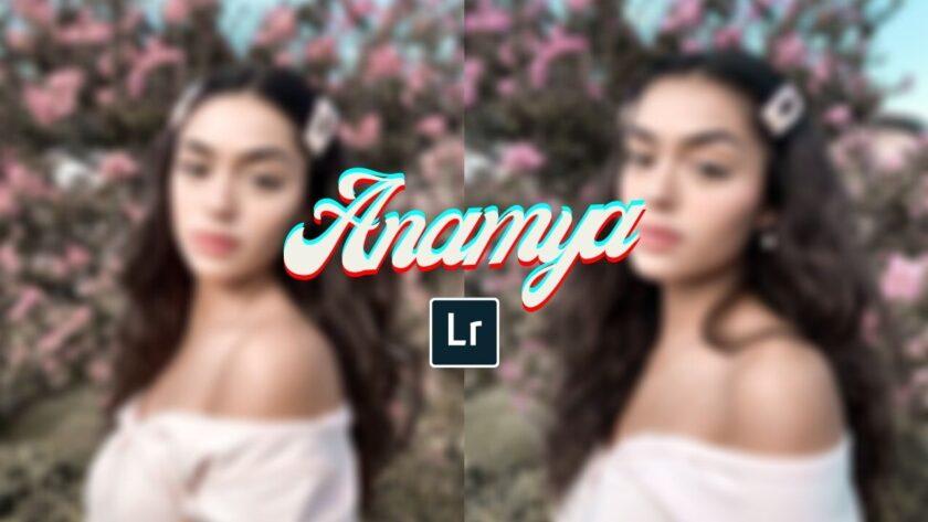 ANAMYA Preset | Free Lightroom Mobile Presets Free Dng