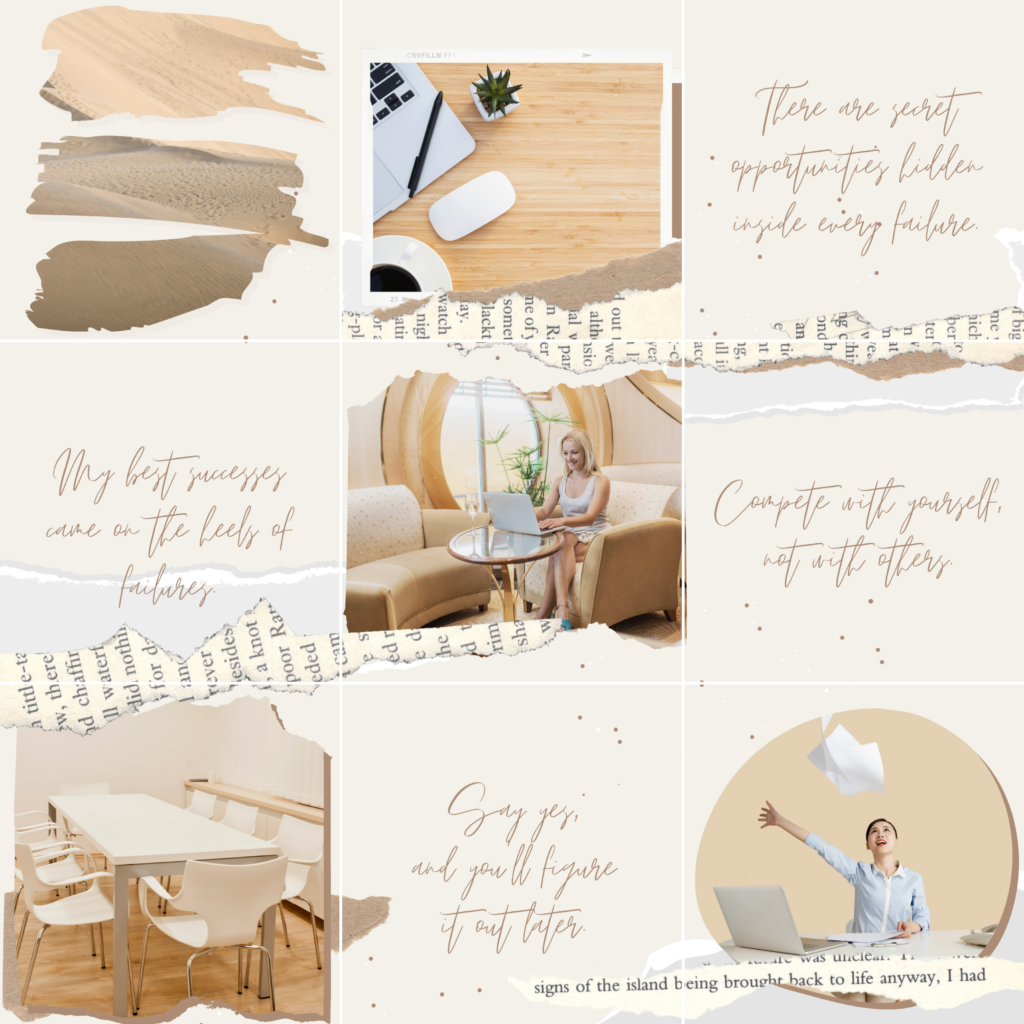 Puzzle Feed Instagram in Canva free download
