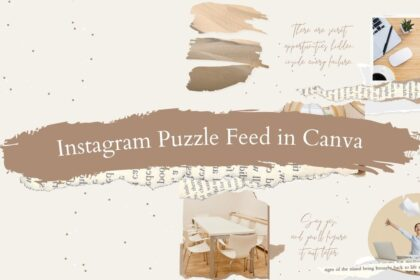 How to make INSTAGRAM PUZZLE FEED in Canva