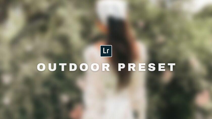 Free Outdoor Lightroom Preset by ReinaMarie