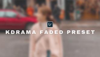 Lightroom preset KDrama