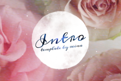 Rose Free Intro and Outro Template